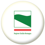 Emilia-Romagna Flag 58mm Button Badge